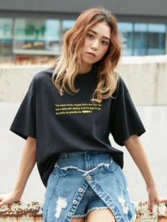 messageプリントTee