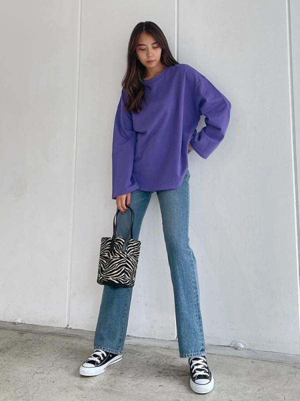 Vicente(ヴィセンテ) |Vicente flare  long denim