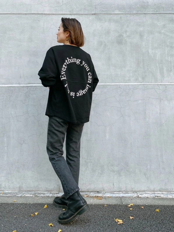 Vicente(ヴィセンテ) |Everything is real long tee